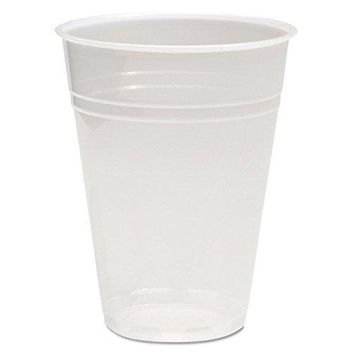 Boardwalk Translucent Plastic Cold Cups, 9oz, 100/Bag, 25 Bags/Carton Boardwalk Translucent Plastic Cups