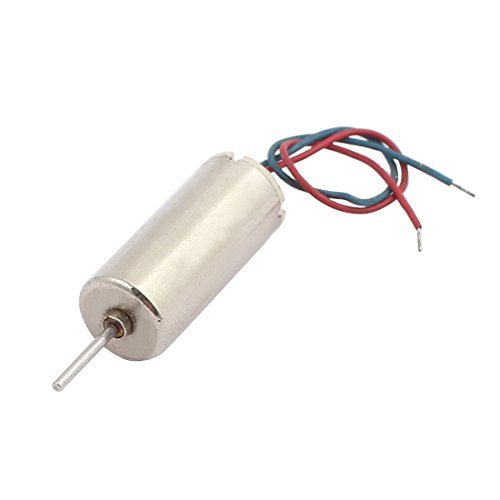 uxcell DC1.5-4.5V 40000RPM Speed Output High Torque Magnetic Coreless Motor for RC Model