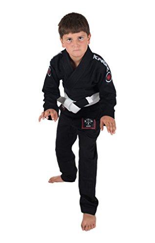 Kingz-Kids-Basic-20-BJJ-Jiu-Jitsu-Gi-with-Free-White-Belt