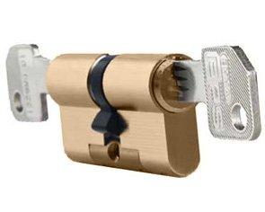 Evva EPS Euro Double Cylinder 62mm PB