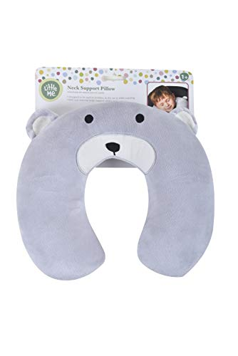 Little Me Neck Support Travel Pillow, Bear ()
