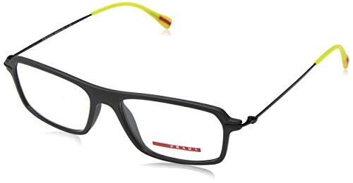 Prada Sport Men's Designer Eyewear, Grey, 55-16-145 (Prada Sport Shoes Women)
