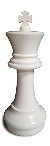 MegaChess Individual Chess Piece - King - 16 Inches Tall - White by MegaChess