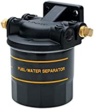 attwood 11840-7 Universal 10-Micron Fuel/Water Separator for 2-Cycle and 4-Cycle Engines, One Size