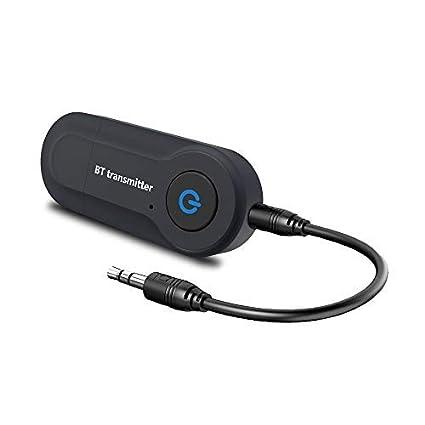 Andven USB Transmisor Bluetooth, Portátil Inalámbrico Música Adaptador Transmitter, para TV/Ordenador /