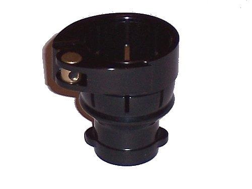 3Skull Paintball Spyder T-Lock Clamping FeedNeck No Holes - Black ()