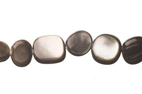 (Black-Lip Sea Shells Nugget Shell Beads Size:7.5x7mm)