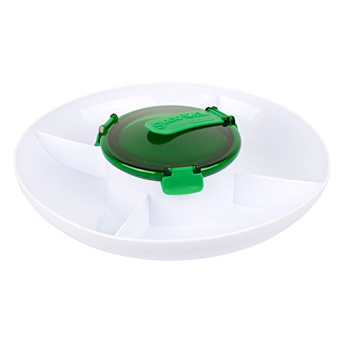 Casabella Guac Lock Container Green White
