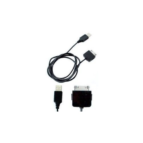 MICROSOFT ZUNE 30gb 2.0 USB sync CHARGER DATA CABLE Black