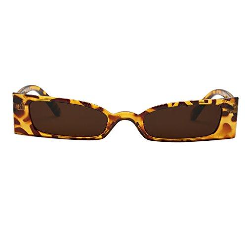 400 Fiesta o Cumpleaños Regalo para de DOLITY Vintaje de Hombre Ancho Mujer D Rojo Sol Marco Protección Leopard UV Gris café Gafa 87qvwRxB