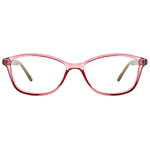 TIJN Blue Light Blocking Glasses Cateye TR90 Frame Anti Blue Ray UV Filter ()