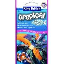 Beaphar UK rey británico Tropical Fish Treats 60g