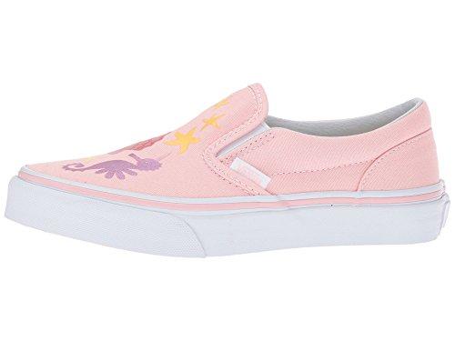 Vans Toddler Classic Slip-On (Mermaid) Pink/Metallic VN0A32QJOOH Toddler -