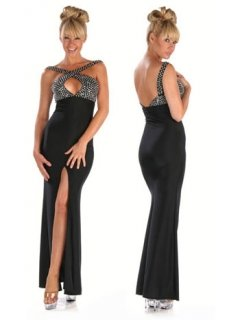 Diamante prom dresses uk