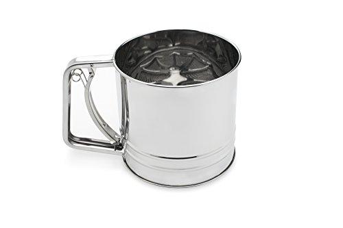 Fox Run 4654 Flour Sifter, Stainless Steel, 4-Cup by Fox Run