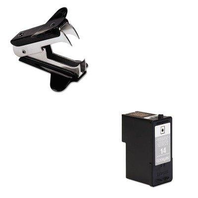 KITLEX18C2090UNV00700 - Value Kit - Lexmark 18C2090 14 Ink (LEX18C2090) and Universal Jaw Style Staple Remover (UNV00700)