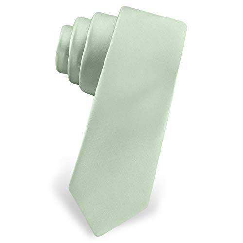Celadon Green Celadon Silk Tie For Boys