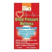Bio Nutrition Inc Blood Pressure Wellness, 60 tabs (Pack of 2)