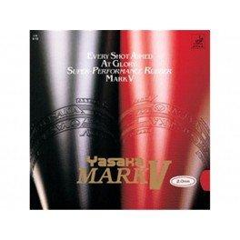 Yasaka Mark V Color-Red,Thickness-Max (Yasaka Table Tennis Rubber)