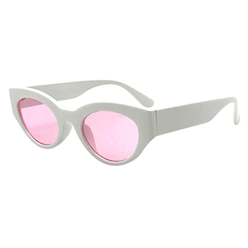 Polarizado Lentes unisex Oval Rapper de I Sol Gafas Unisex Retro Gafas Goggles Espejo Portección UV400 Shades Grunge sol Clout Gafas Mujer de Brillo Keepwin Hombre Vintage qw1nRFa