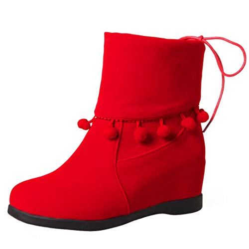 AIYOUMEI Classic Red AIYOUMEI Red Boot Women's Classic Classic Women's Women's AIYOUMEI Boot 4Ha4f0