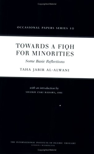 Read Online Towards a Fiqh for Minorities (Occasional Papers) pdf epub