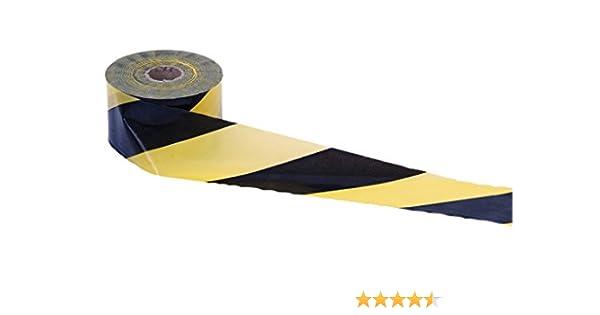 Cofan 11000305 Cinta Balizamiento, Amarillo y Negro, 80 mm x 200 m: Amazon.es: Industria, empresas y ciencia