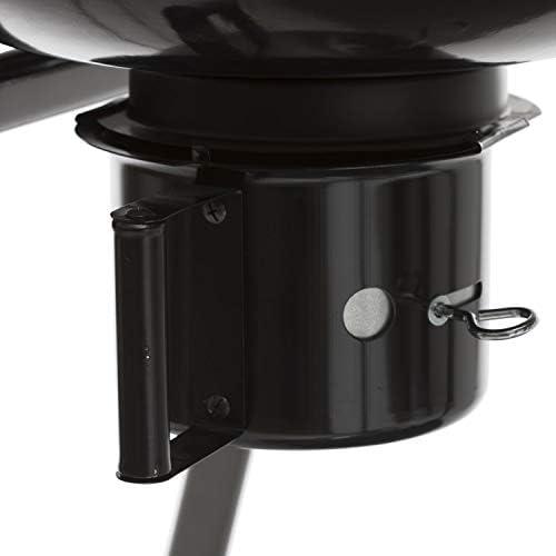 Barbecue à Charbon avec Tablette Pyla - Diam. 55 cm - Noir