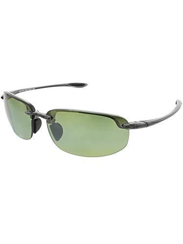 Maui Jim Sunglasses | Ho'okipa Reader HT807-1125 | Smoke Grey Rimless Frame, Polarized Maui HT Lenses, with Patented PolarizedPlus2 Lens Technology