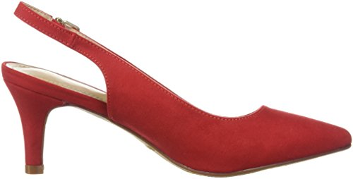 Dream Women's Lop Pump Red Suede V2HGIM