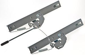 JEGS 70220 Seat Mount Slider Brackets
