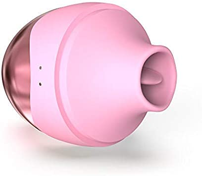 Mini clítoris Aspiradora con silicona lengua, 7 diferentes modos ...