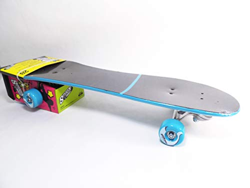 Three Whys SURF Skateboard SPOONRIDER-Blue 287.5MM (Turkey Blue)