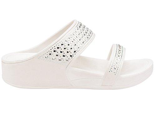 Foster Footwear - Mules mujer blanco