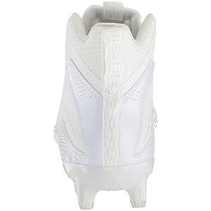 adidas Performance Men's Freak X Carbon Mid Football Shoe, White/White/White, 13 M US
