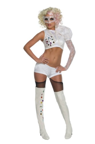 Lady Gaga Video Music Awards Performance Outfit,White,Standard Costume