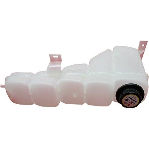 Evan-Fischer EVA1187206840 New Direct Fit Coolant Reservoir Expansion Tank for F-Series Super Duty 99-04/Excursion 00-05 W/ Cap Plastic - Excursion Tank