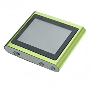 Green 1.8 Inch 2GB High Definition LCD Touchscreen MP3/MP4 Player