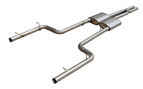 Pypes Performance Exhaust SMC26R Pypes Race Pro Dual Exhaust Systems