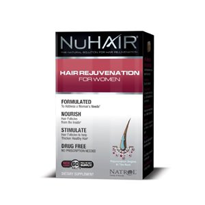 Natrol Hair Regrowth For Women, 60 Tablets (Pack of 8)
