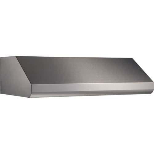 "Price comparison product image Broan Elite E64E36SS 36"" Under-Cabinet Canopy Range Hood with External Blower Options Variable Speed Control and Baffle Filters in Stainless Steel (Blowers Sold"