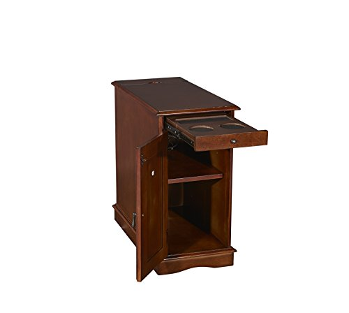 Powell's Furniture 15A2017HA Butler Accent Table, Hazelnut, Small, ()