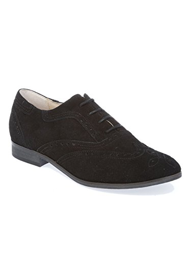 Suède Noir PEPEROSA Chaussures À N7101NERO Lacets Femme qHq4xBnS