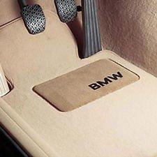 Genuine OEM BMW Floor Mats- E60 & E61 5 Series (Cream Beige) Non XI