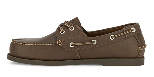 a4b5efc513 Dockers Men's Vargas Leather Handsewn Boat Shoe,Rust, 9.5 M US by Dockers (