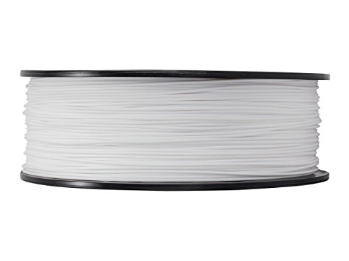 PETG 3D Printer Filament,Dimensional Accuracy +/- 0.05 mm, 1kg / 2.2lbs Spool for 3D Printers-- (1.75mm, White) by Evergreen Tree