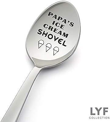 Amazon.com: Pala de hielo de Papa. Cuchara de regalo para el ...