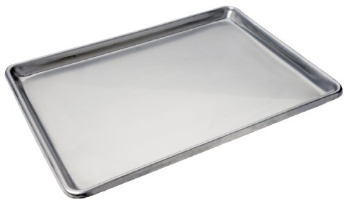 Focus Foodservice Commercial Bakeware Stainless Steel-Sheet Pan, 1/2-Sheet