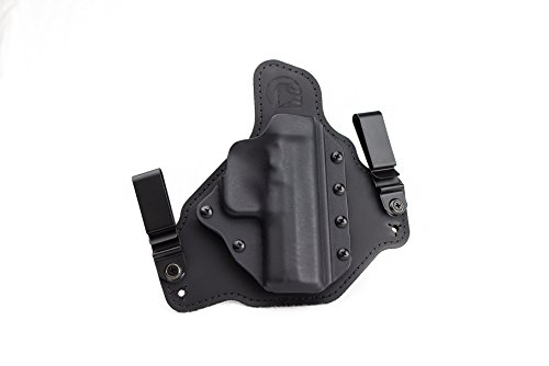 Complete Crossroad System (Glock 19/23/32 MOS (Modular Optic System) w/ Inforce APL Compact IWB Hybrid Holster with Adjustable Retention Black Arch Holsters ACE-1)