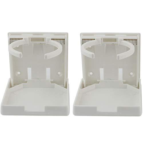 Ogrmar 2PCS Adjustable Folding Drink Holder/Adjustable Cup Holder